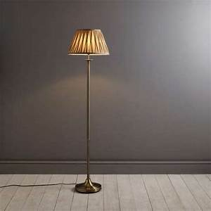 reeded brass floor lamp dunelm With reeded brass floor lamp