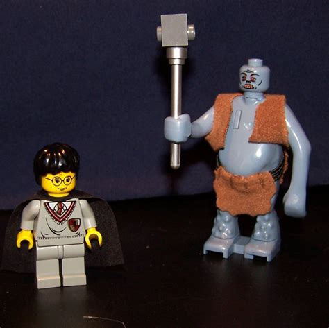 lego harry potter dungeon troll harry potter