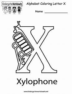 8 Best Images of Printable Letter X Worksheets - Letter X ...