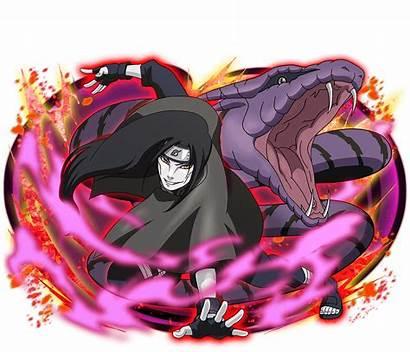 Naruto Ninja Orochimaru Snake Blazing Ultimate Hidden