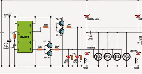 Kva Ferrite Core Inverter Circuit Diagram Centre