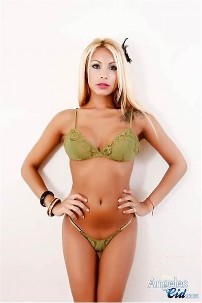 Cid Angeles Hung Tranny Tgirl Trans Shemale
