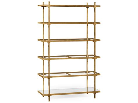 Iron Etagere by Jonathan Charles Luxe Gilded Iron Etagere Rack 494923 G