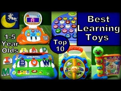Top 10 Best Educational Toys For Toddlers To Preschoolers Youtube