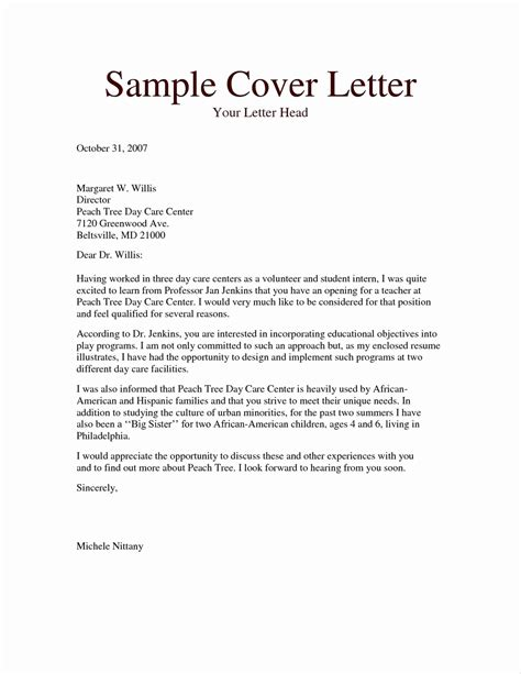 letter  introduction sample  portfolio  template