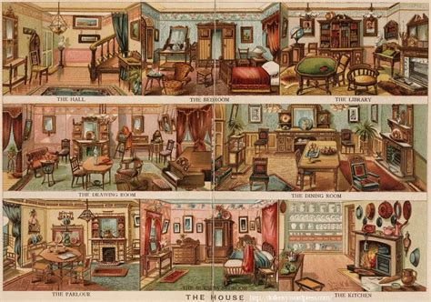 Gorgeous 1880s House by Illustrated Objects For Designing 1880 Something Doll
