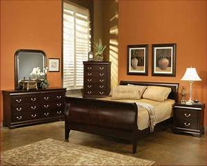 Bloombety bedroom with painting wall paint colors best for Best paint colors for bedroom with dark furniture