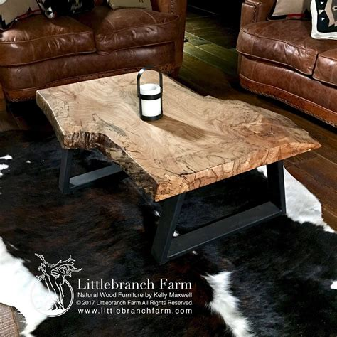 natural wood coffee tables rustic coffee table