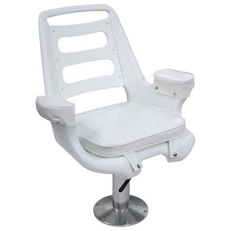 Boat Captains Chair Pedestal by Wise 174 Offshore Wide Captain S Chair With Pedestal