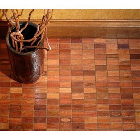mosaic wood floor tiles behind the curtains floor window covering