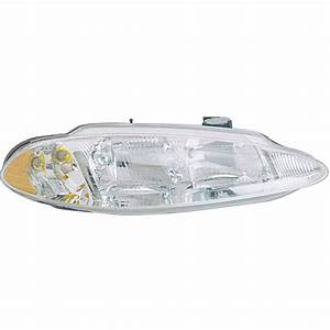 2000 Dodge Intrepid Headlight Assembly Parts From Car