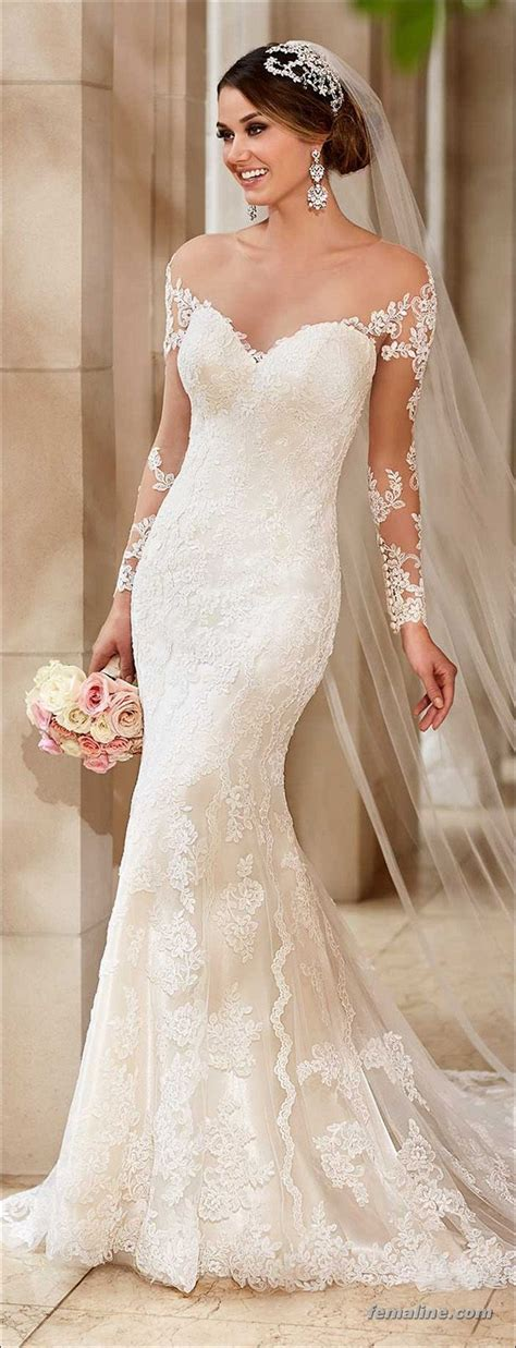 222 beautiful long sleeve wedding dresses (51) FEMALINE