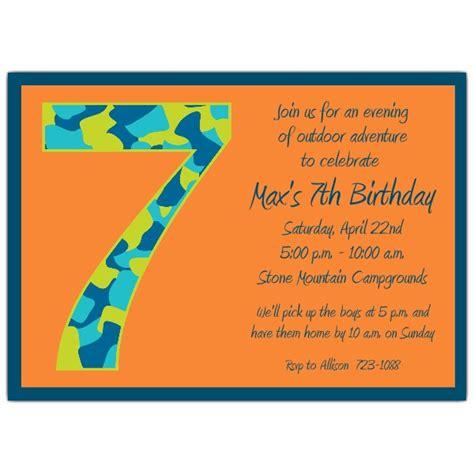birthday boy camo  birthday invitations paperstyle