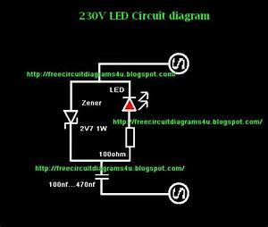 Free Circuit Diagrams 4u  230v Led Circuit Diagram
