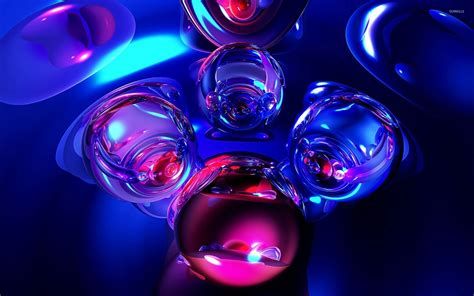 Glass Marbles [2] Wallpaper  3d Wallpapers #24790