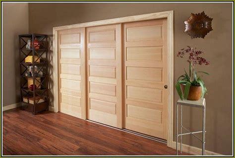 triple track bypass closet doors home design ideas