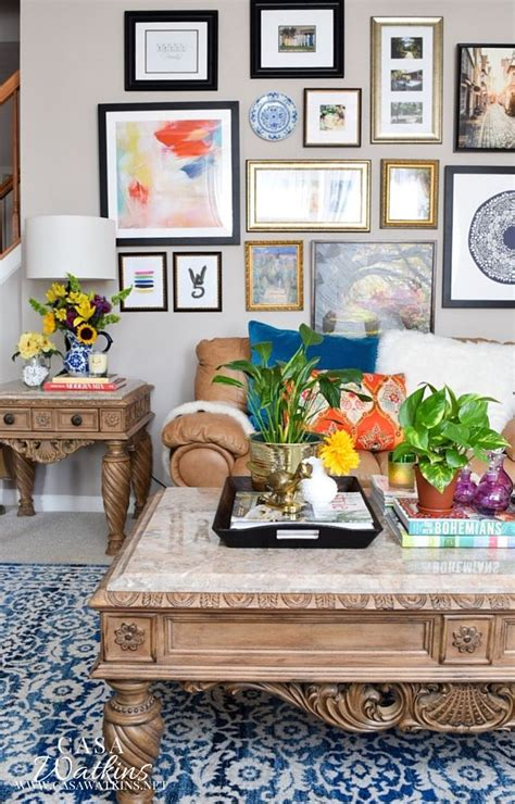 1000 ideas about eclectic living room on
