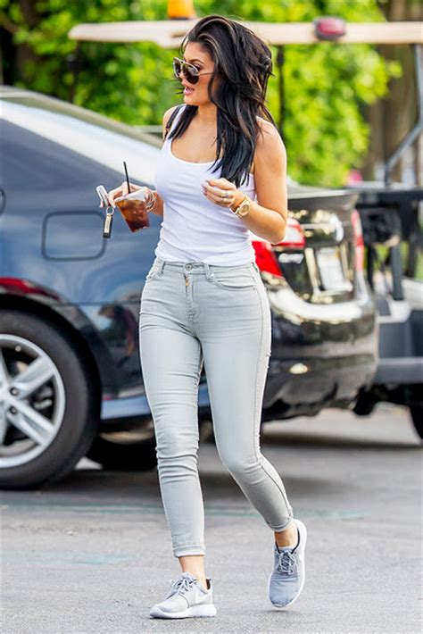 5 Ways to Rock Sneakers- Kylie Jenner Style