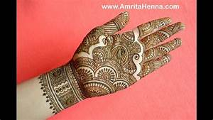 TRADITIONAL RAJASTHANI BRIDAL HENNA MEHNDI DESIGN | FULL ...
