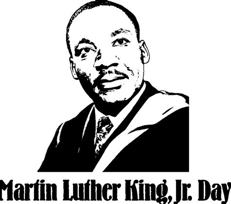 Martin Luther King Clipart Martin Luther King Jr Day Clip Casualgett