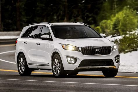 Kia Sorento 2019 White by 2019 Kia Sorento Price Specs Review Release Date 2019