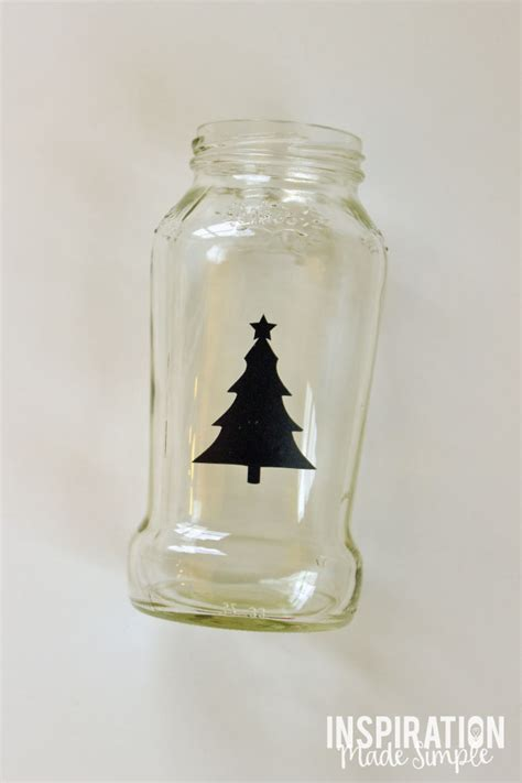 jar christmas candle holder christmas tree jar candle holder inspiration made simple