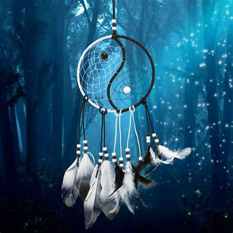 dreamcatcher taiji catcher room wall window hanging ornaments decoration decor