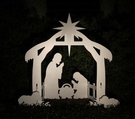 christmas mangers for sale outdoor nativity yard nativity set ebay