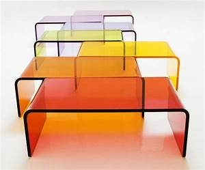 rectangular colored acrylic coffee tablelucite furniture With black acrylic coffee table
