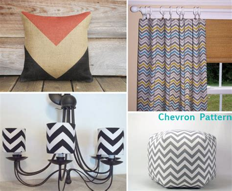 chevron trend inspired wall stencils