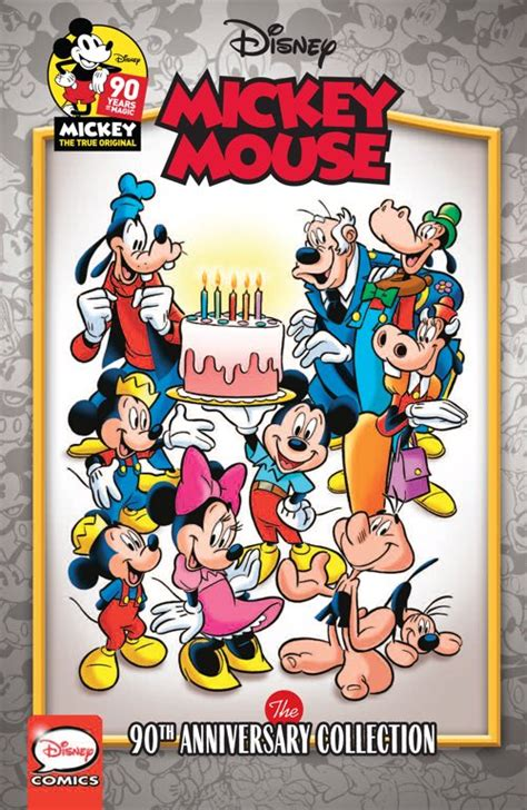 mickey mouse  anniversary collection idw publishing