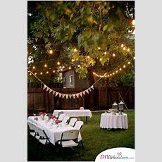 Diese Diy Gartenparty Deko Gibt Deiner Sommerfeier