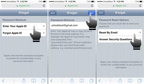 forgot apple id password on iphone how to reset icloud password from your iphone or ipad Forgo