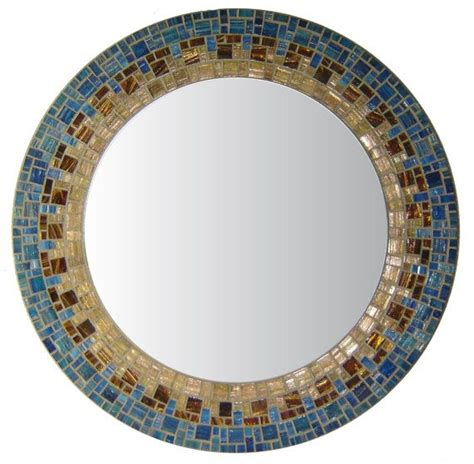 brown mosaic bathroom mirror 22 best images about mirrors on antique silver