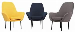 Fauteuil design contemporain gris oswald miliboo for Fauteuil contemporain gris