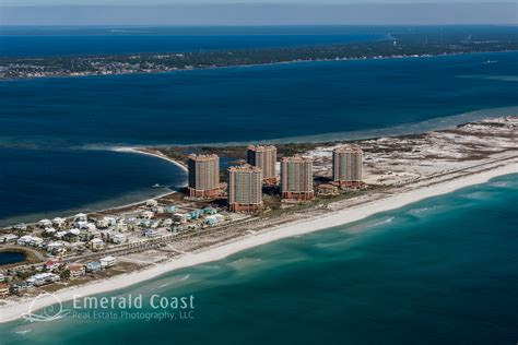 emerald coast real estate photography stock aerial