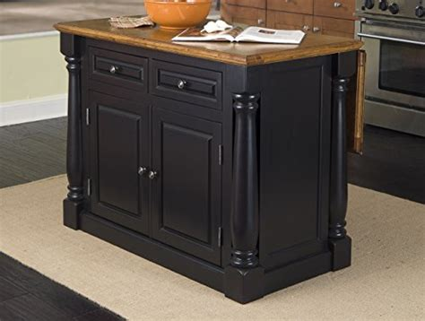 Home Styles-monarch Kitchen Island, Black And