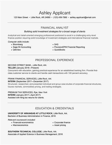 Current Cv Sles by Gambar Contoh Cv For Fresh Finance Graduate 56 Bagi Desain