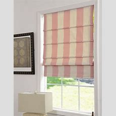 Popular Gray And White Striped Roman Shades &nx34