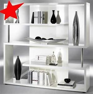 Regal Raumteiler Weiß : b cherregal raumteiler regal twist hochglanz weiss ebay ~ Eleganceandgraceweddings.com Haus und Dekorationen