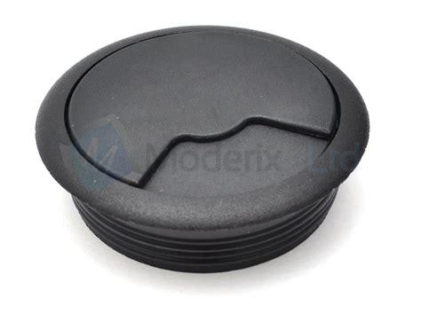 grommet holes for a computer desk 60mm black pc computer desk plastic grommet table cable