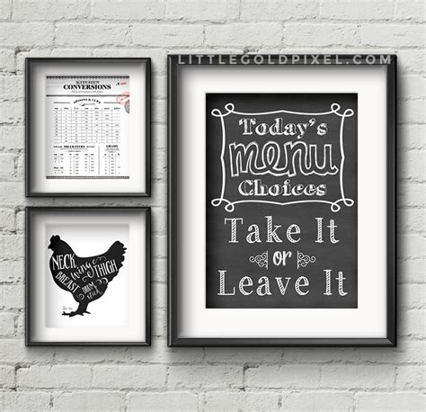 kitchen wall decor pictures 20 kitchen free printables wall roundup