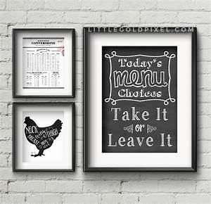 20 kitchen free printables o wall art roundup o little With best brand of paint for kitchen cabinets with art wall prints