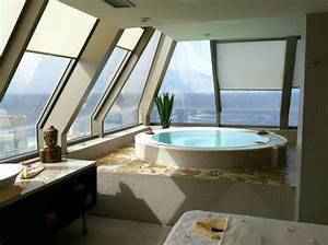 belle chambre avec jacuzzi privatif 40 idees romantiques With hotel barcelone jacuzzi dans chambre