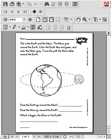 earth moon system worksheets page 4 pics about space