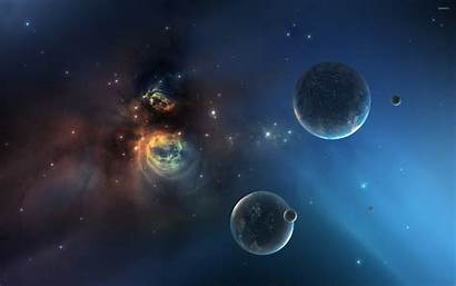 Nebula Planets Space Planet Wallpapers 2560 1600