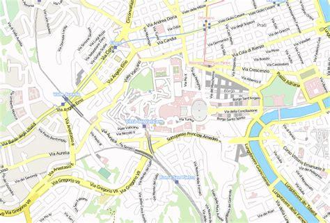 rom petersdom karte
