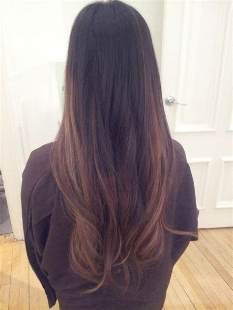 1000 Ideas About Balayage Black Hair On Pinterest
