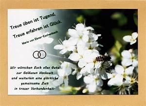 Glückwunschkarten Zur Goldenen Hochzeit : goldene hochzeit 87 ~ Frokenaadalensverden.com Haus und Dekorationen