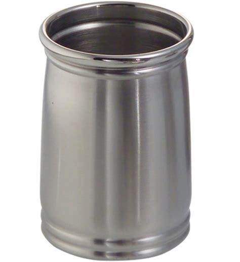 Bathroom Tumbler Used For by Cameo Metal Bathroom Tumbler Stainless Steel In Vanity